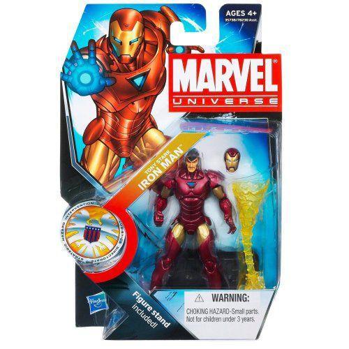 Marvel マーブル Universe 3 3/4 Inch Series 16 アクションフィギュア #22 Tony Stark Iron Man アイア