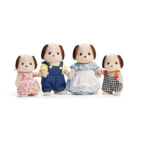 Calico Critters: Beagle Dog Family フィギュア 人形 おもちゃ