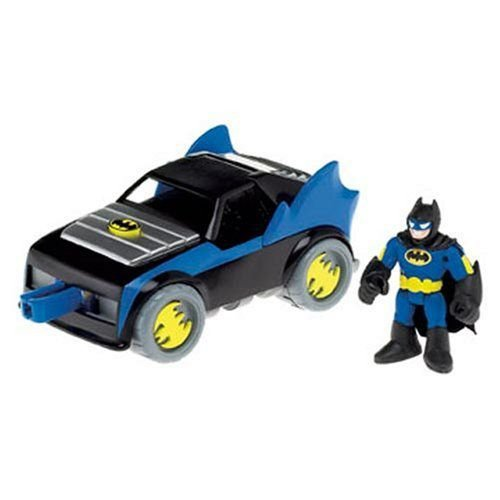 Imaginext DC Super Friends Batman バットマン Batmobile フィギュア 人形 おもちゃ