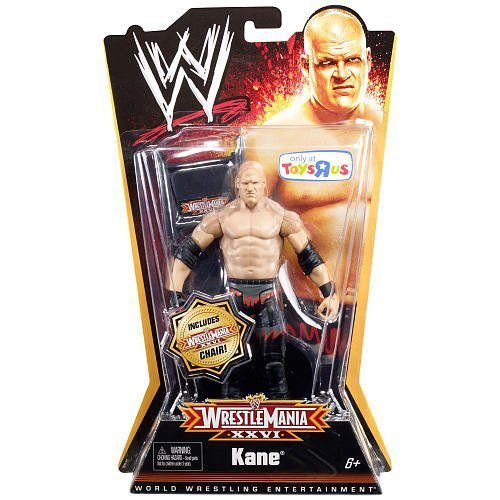 Mattel マテル社 WWE プロレス Wrestling Exclusive Wrestle Mania XXVI アクションフィギュア Kane フィ