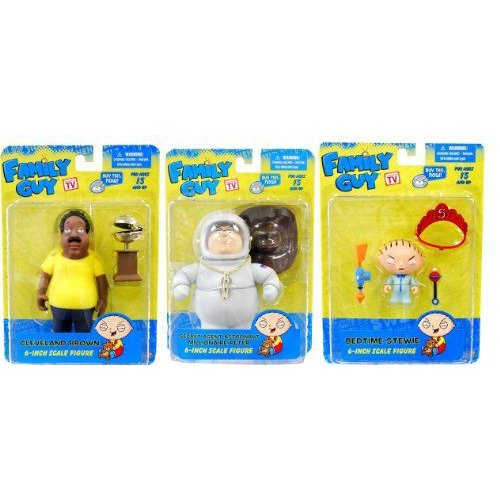 Family Guy Classics Figures Series 2 Set of 3 フィギュア 人形 おもちゃ