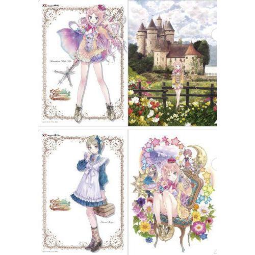 The Alchemist of Arland Series - Clear File Set [Rorona & Kaena] フィギュア 人形 おもちゃ