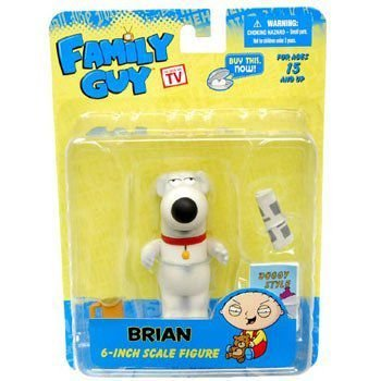 Family Guy Series 1 6 Inch Figure Brian フィギュア 人形 おもちゃ