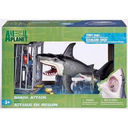 Shark Attack Figure Playset By Animal Planet フィギュア 人形 おもちゃ