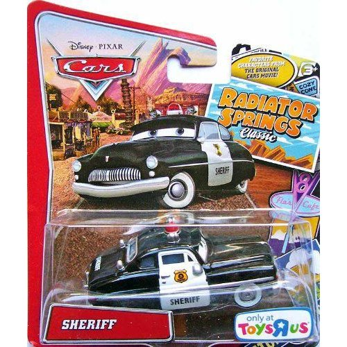 Disney ディズニー Pixar ピクサー Cars - Radiator Springs Classic Collection - Sheriff フィギュア