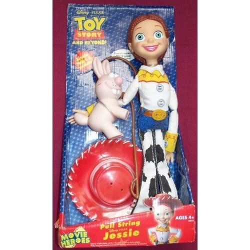 Jessie Toy Story and Beyond Pull String ドール 2005 - RETI赤 フィギュア 人形 おもちゃ