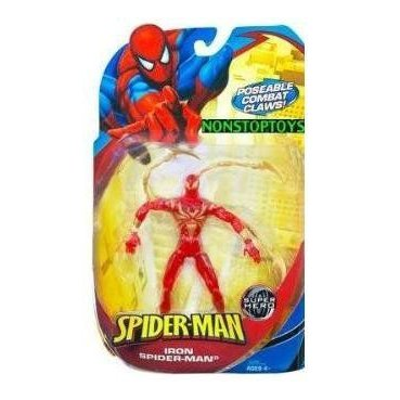 Spider-Man スパイダーマン Classic Heroes Iron Spider Figure Variant - Stealth Cloaking Suit (Clear