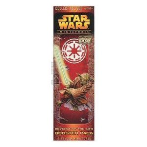 Star Wars スターウォーズ CMG Miniatures Game Revenge of the Sith Booster Pack フィギュア 人形 おも