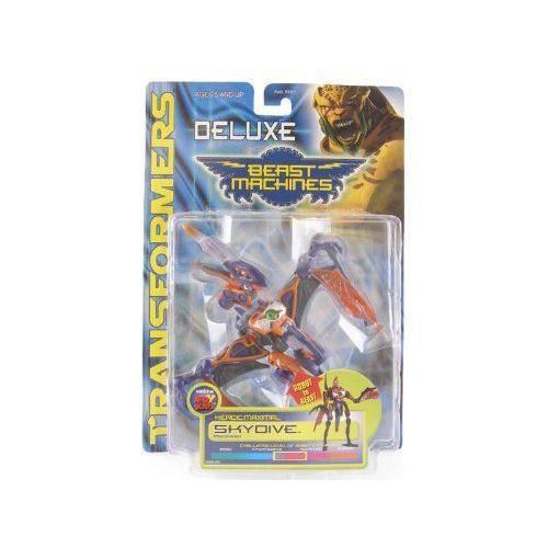 Transformers トランスフォーマー Beast Machines Deluxe - SKYDIVE figure フィギュア 人形 おもちゃ