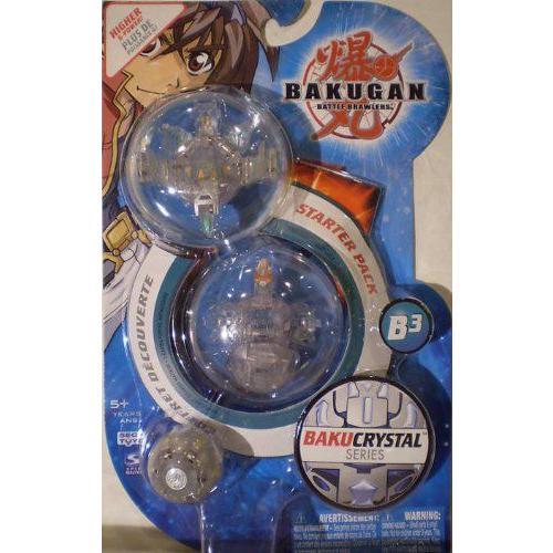 Bakugan バクガン Bakucrystal B3 Atmos, Mega Nemus (520g), Freezer フィギュア 人形 おもちゃ