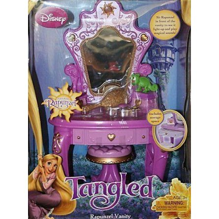 Disney ディズニー Tangled Rapunzel Enchanted Vanity ドール 人形 おもちゃ