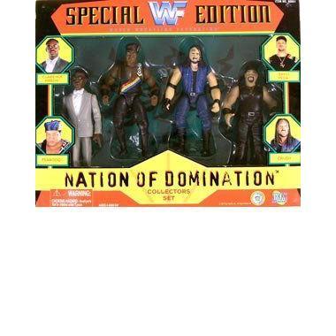 WWF プロレス アメリカンプロレス Special Edition Nation of Domination アクションフィギュア Multi-Pa
