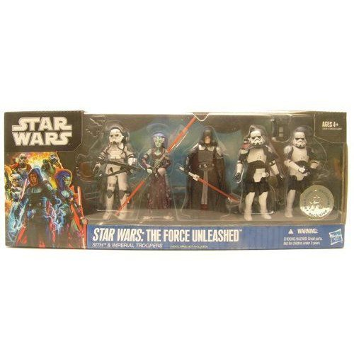 Star Wars スターウォーズ 2011 The Force Unleased 2 Exclusive Battle Pack Sith Imperial Troopers フ