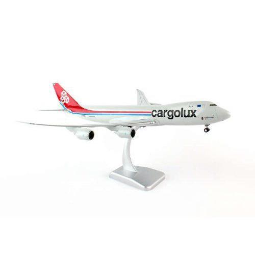 1: 200 ホーガンウィングス Cargolux ボーイング 747-8F City of Esch-Sur-Alzette