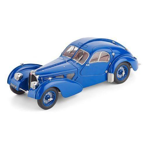 1938 Bugatti Type 57 SC Atlantic in 青 diecast model by CMC in 1:18 スケールミニカー モデルカー
