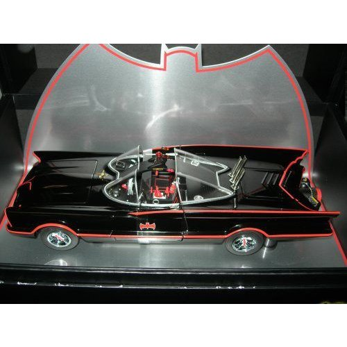 Hot Wheels ホットウィール 1:18 1966 Super Elite Batmobileミニカー モデルカー ダイキャスト