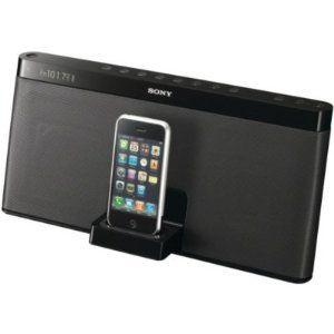 New-SONY RDPXF100IP IPOD/IPHONE 3G PORTABLE SPEAKER DOCK WITH FM TUNER - YRDPXF100IP