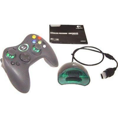 Logitech Cordless Precision Controller for Xbox - Game pad - Microsoft Xbox (輸入版)