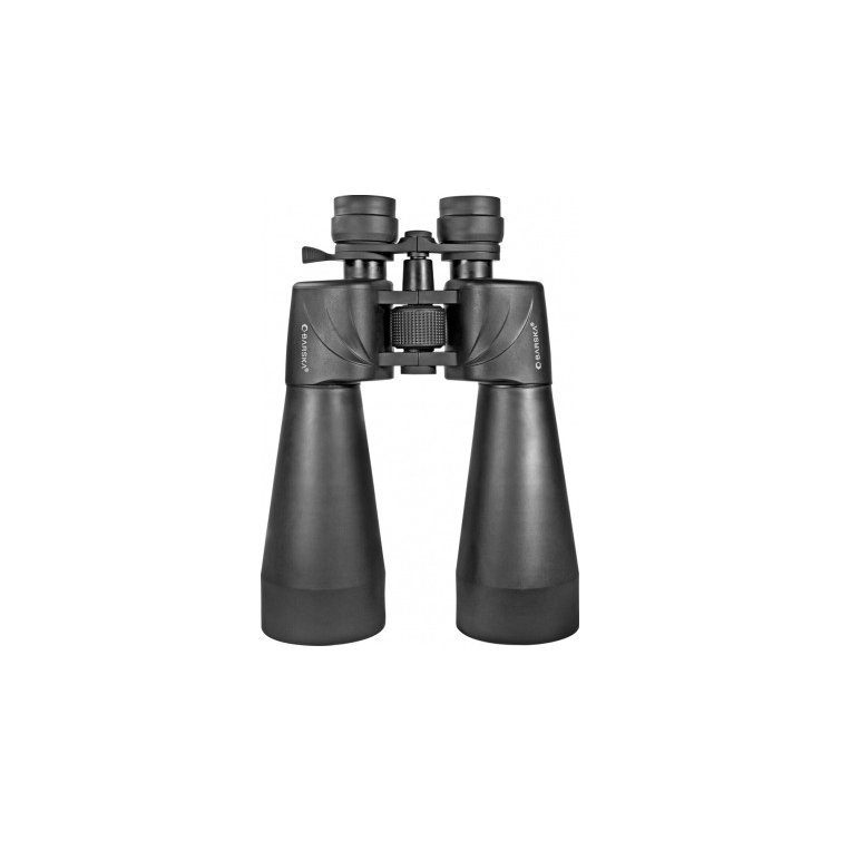 BARSKA Escape Porro 12-60x70 Zoom ズーム Binocular 双眼鏡 with Tripod Adapter (緑 Lens)