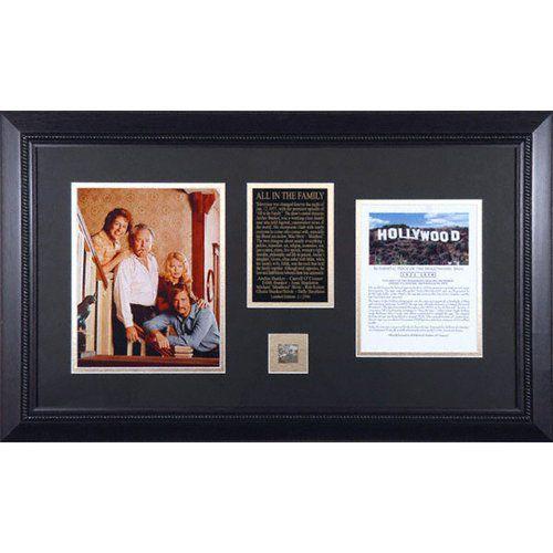 【メーカー公式ショップ】 All Framed In Sign The of Family - Cast - Framed 8x10 Photograph with Piece of Hollywood Sign, ボックスワインのお手軽ワイン館:8afeffc0 --- sonpurmela.online