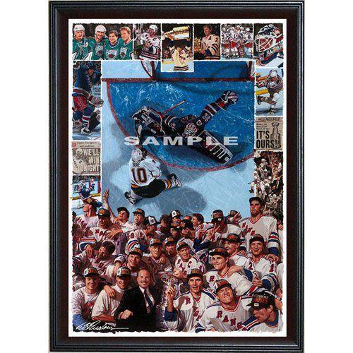 ー品販売  NHL - - New York Giclee Rangers Ours