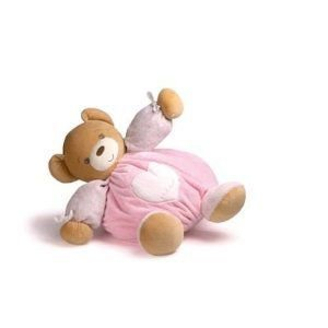 Kaloo Plume Maxi Bear, ピンク ぬいぐるみ 人形