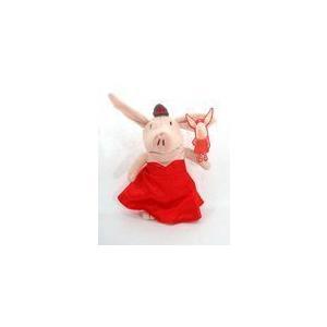 Olivia in 赤 Dress 11