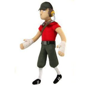 Team Fortress peluche Scout to Neca Valve Team Fortress - Scout - Plush 13
