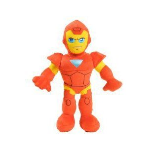 Just Play Marvel マーブル Action Superhero Iron Man アイアンマン Plush with Lights and Sounds ぬい