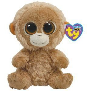 Ty Beanie Boo Buddy Tangerine Orangutan ぬいぐるみ 人形