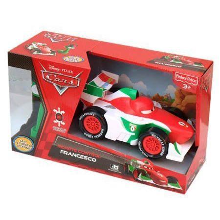 カーズ2 EZ DRIVERSラジコン フランチェスコ Fisher Price【おもちゃ ディズニー CARS2】6340b
