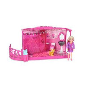 Polly Pocket: Stackable Studios - Polly's B-Dazzled Bathroom 人形 ドール