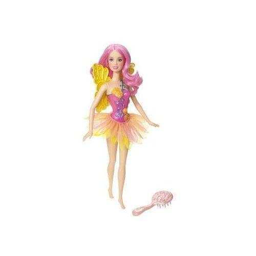 Barbie バービー Fairy Doll - ピンク 黄 人形 ドール