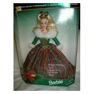 Barbie バービー Happy Holidays Gala-Special Edition-1995 人形 ドール