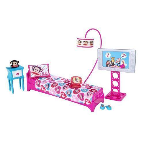 Barbie バービー Loves Paul Frank Bedroom Playset (Julius the Monkey) 人形 ドール
