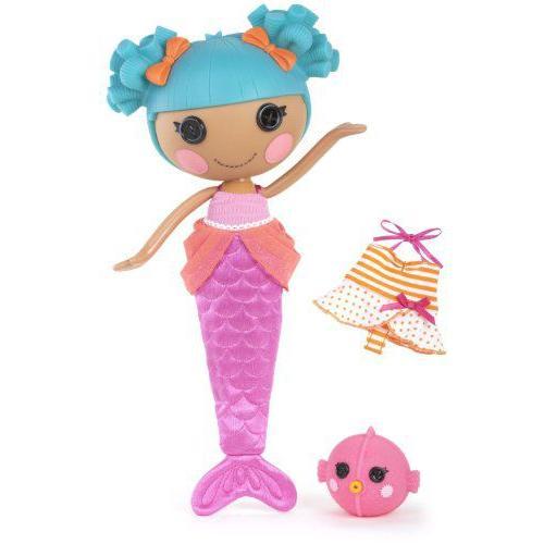 Lalaloopsy Sew Magical Mermaid Doll, Sand E Starfish 人形 ドール