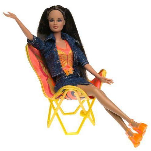 Barbie バービー Teresa Chair Flair (2002) 人形 ドール