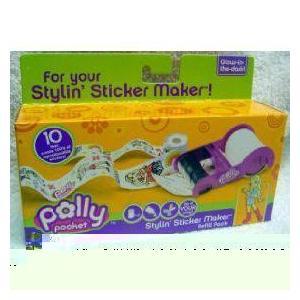 Polly Pocket Stylin' Sticker Maker Refill Pack 人形 ドール