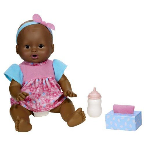 Little Mommy Wipey Dipey African-American Doll 人形 ドール