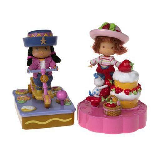Strawberry Shortcake Miniland Set 人形 ドール