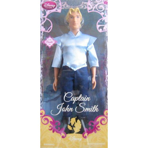 Disney ディズニー Princess Exclusive Poseable Pocahontas Doll - Captain John Smith - 12