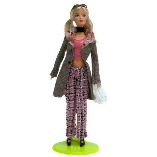 Barbie バービー: Fashion Fever - Barbie バービー in ピンク Tweed Pants and ピンク Top 人形 ドール