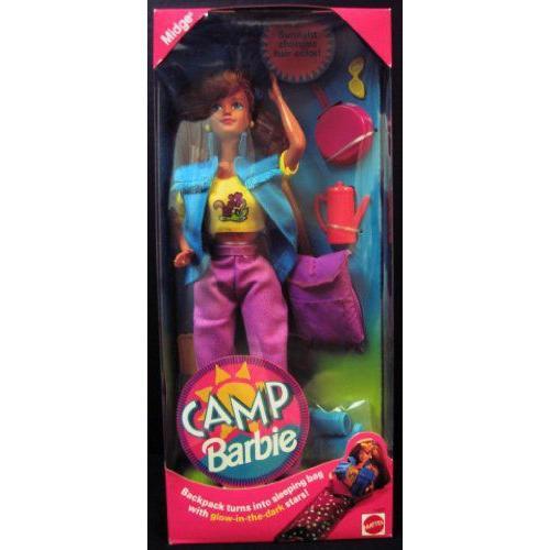 Rare Barbie バービー Camp Midge From 1993 人形 ドール