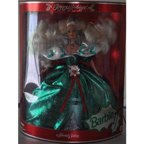 Barbie バービー - Happy Holidays Special Edition Doll (1995) 人形 ドール