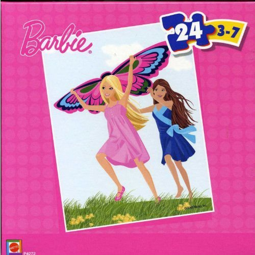 Barbie バービー 24 Piece Puzzle - Butterfly 人形 ドール