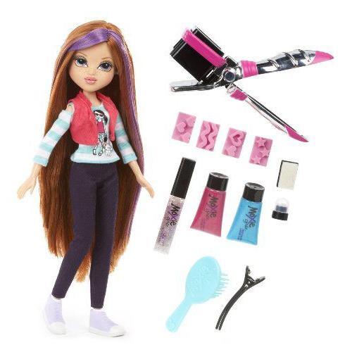 Moxie Girlz Moxie Girlz Magic Hair Stamp 'N' Style Doll Kellan 人形 ドール