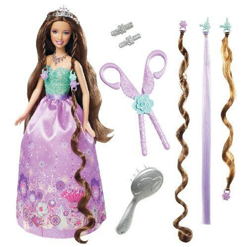 Barbie バービー Cut N Style Princess Teresa Doll 人形 ドール