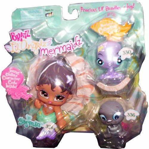 Bratz ブラッツ Lil' Angelz Mermaidz ~ Yasmin with Octopus and Walrus 人形 ドール