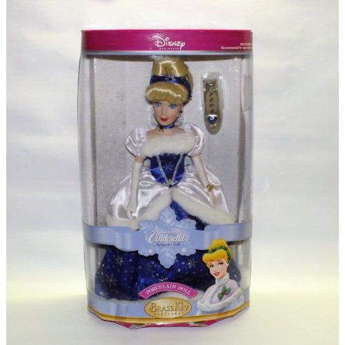 Brass Key Snowflake Cinderella Procelain Keepsake Doll 2004 人形 ドール