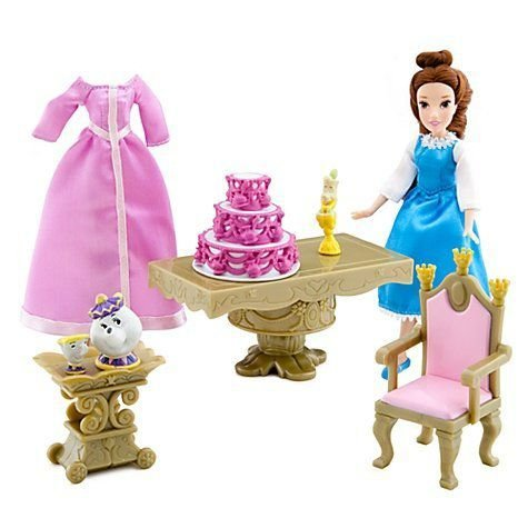 Disney ディズニー Mini Belle Princess Doll Play Set from Beauty and the Beast 人形 ドール